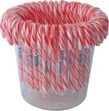 Candy cane klein Rood/wit